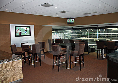 Cowboys Stadium Super Bowl Luxury Suite Editorial Photo