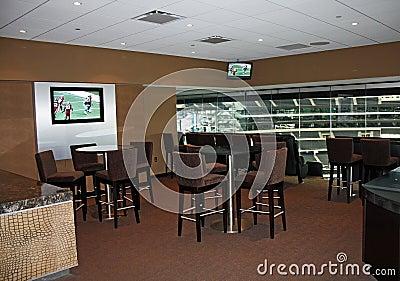 Cowboys Stadium Super Bowl Luxury Suite Editorial Photo