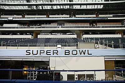 Cowboys Stadium Super Bowl XLV Stands Editorial Stock Image