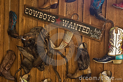 Cowboys Wanted Sign