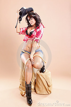 Free Cowgirl Stock Images - 15450024