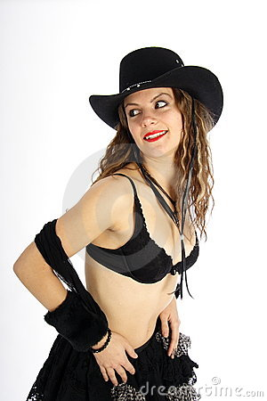 Cowgirl Stock Photo - Image: 372380