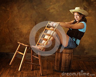 Cowgirl Teen