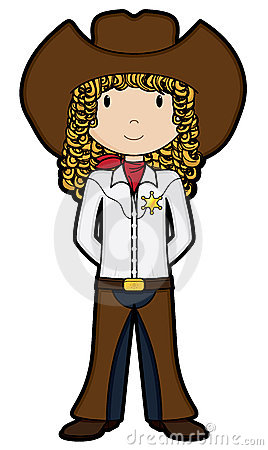 CowGirl - Vector Stock Photography - Image: 5978842