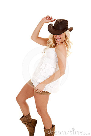 Cowgirl yehaw