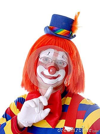Coy Clown