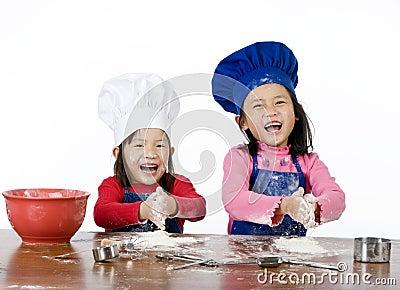 Cozimento das crianças