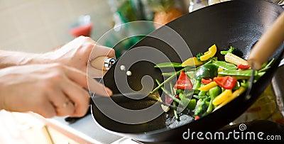 Cozimento do cozinheiro chefe