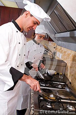 Cozimento dos cozinheiros chefe