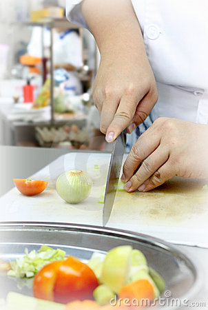 Cozinhando a preparação