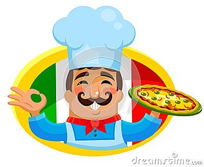 Cozinheiro chefe italiano