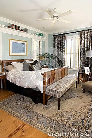 Cozy furnished bedroom