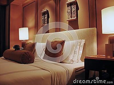 Cozy Hotel Bed