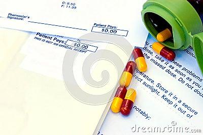 Cápsulas del plan de la droga de la compañía