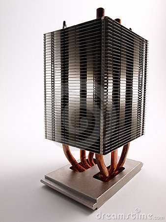 CPU Heat Sink front view