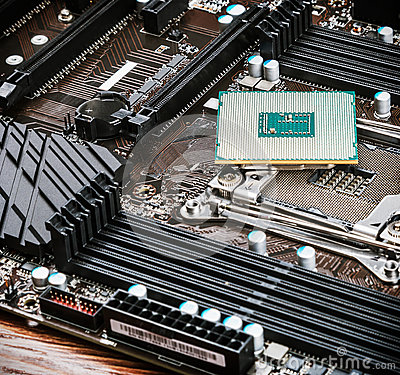 Free CPU Socket And Processor Royalty Free Stock Photo - 93155105