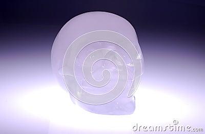 Crânio de vidro