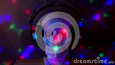 Crânio no disco filme