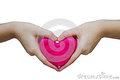 Coeur de pâte de jeu