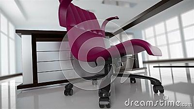 Création d'intérieur de bureau illustration stock