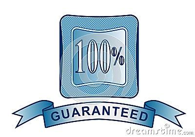 Crête avec 100  garanti