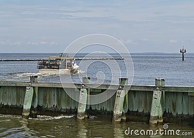 Crab Boat Departs