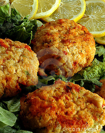 Free Crab Cakes Stock Photo - 803490