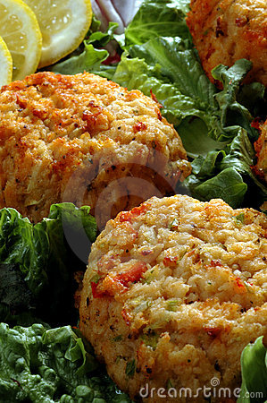 Free Crab Cakes Stock Photos - 803493
