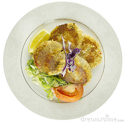 Crab Cakes Top View