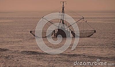 Crab Fishing,North Sea