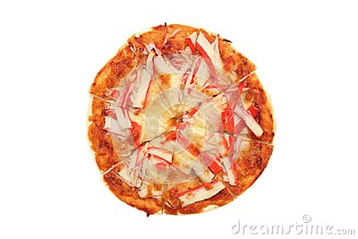 Crab Meat Pizza