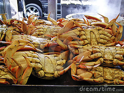 Crab for sale
