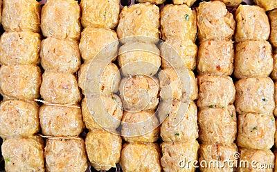 Crab sausage (Hoi Jor), A favourite  chinese food