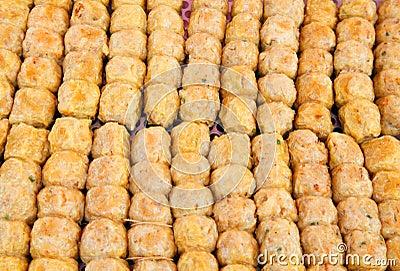Crab sausage  Hoi Jor , A favourite chinese food i