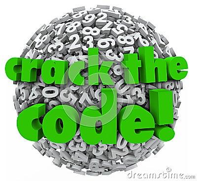Crack the Code Number Sphere Breaking Password Security