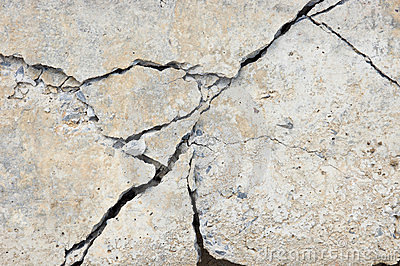 Crack Concrete Royalty Free Stock Photography Image