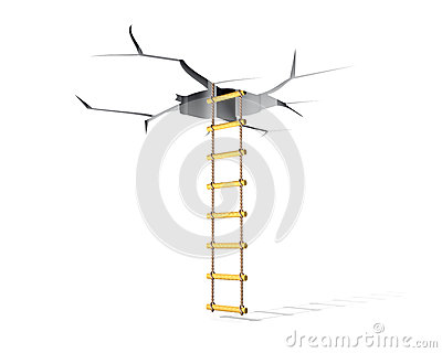 Crack and ladder