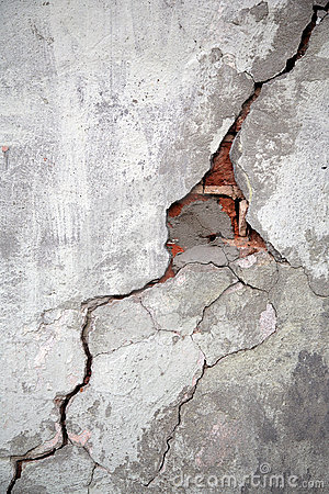 Free Crack On A Wall Royalty Free Stock Photo - 5196995
