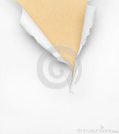 Cracked beige paper background