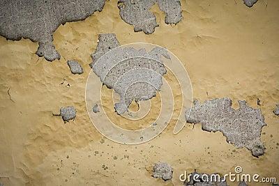 Cracked concrete vintage