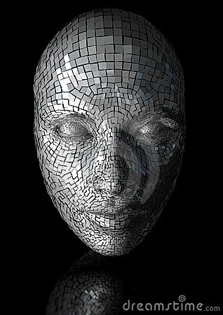 Cracked Mask