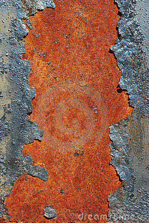 Cracked Rusty Metal Surface Royalty Free Stock Photos - Image: 10689598