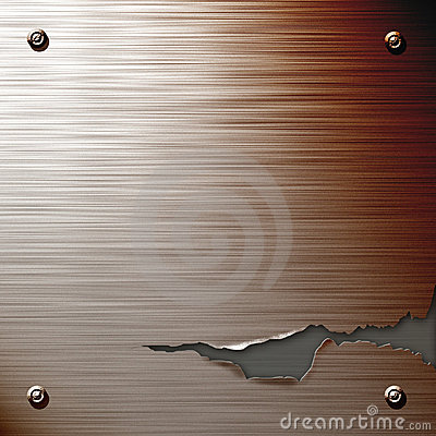 Free Cracked Steel Plate Royalty Free Stock Photography - 68957
