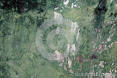 Cracked walls background