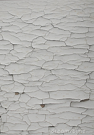 Cracked White Paint