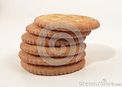 Cracker impilati