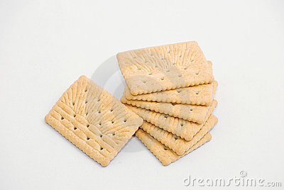 Crackers over White