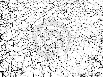 Crackling texture