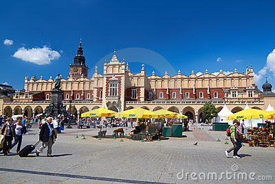 Cracow Editorial Stock Image