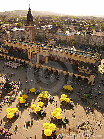 Free Cracow - A Market Royalty Free Stock Images - 1438289